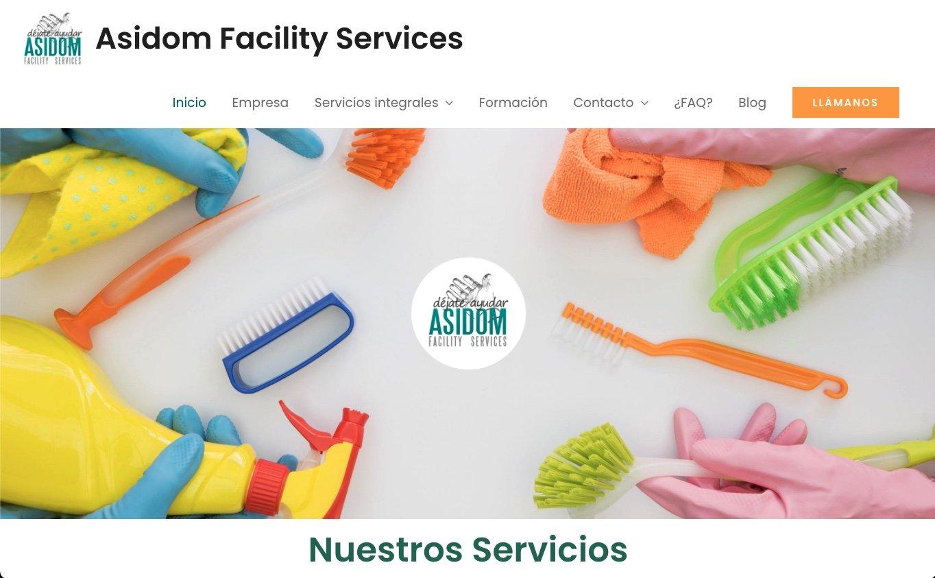 Servicios y cursos de limpieza Asidom
